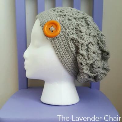 Wheat Fields Slouchy Beanie Crochet Pattern