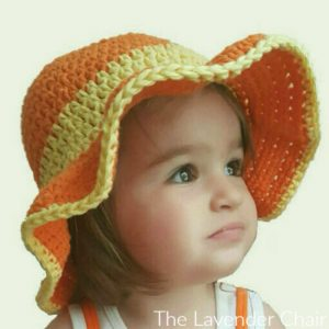 Ava's Toddler Sun Hat  Crochet Pattern