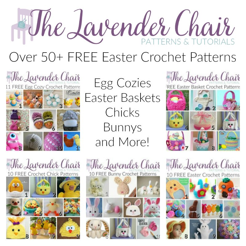 Over 50 Free Easter Crochet Patterns The Lavender Chair