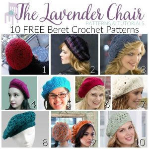 10 Free Beret Crochet Patterns