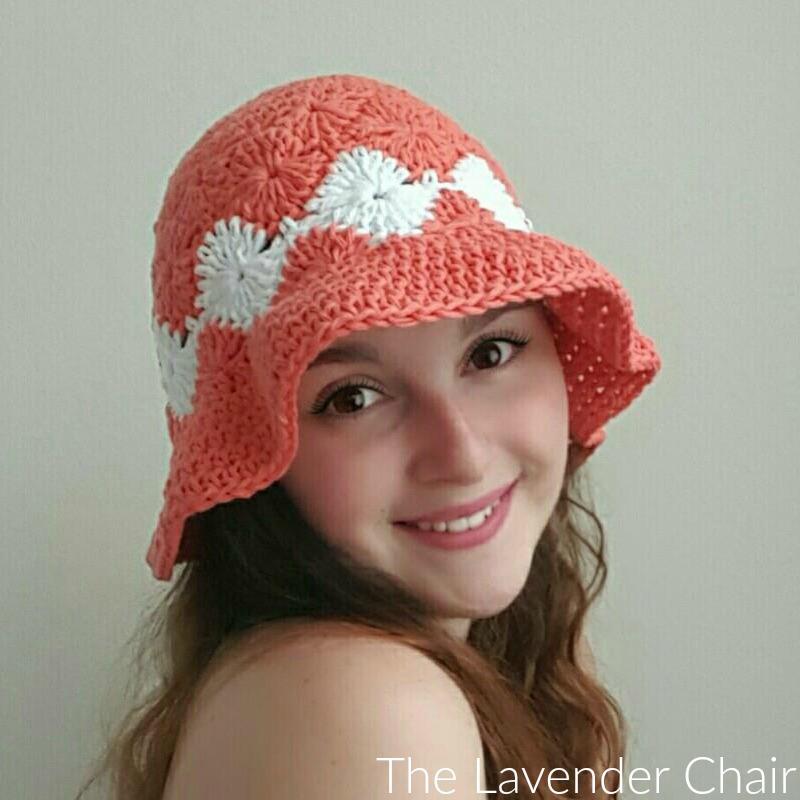 Josephines Floppy Sun Hat Crochet Pattern The Lavender Chair