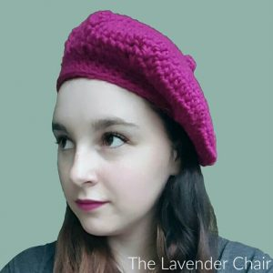 Raspberry Beret Crochet Pattern