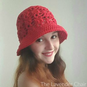 Weeping Willow Sun Hat (Adult) Crochet Pattern