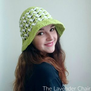 Ziggle Puff Summer Sun Hat Crochet Pattern