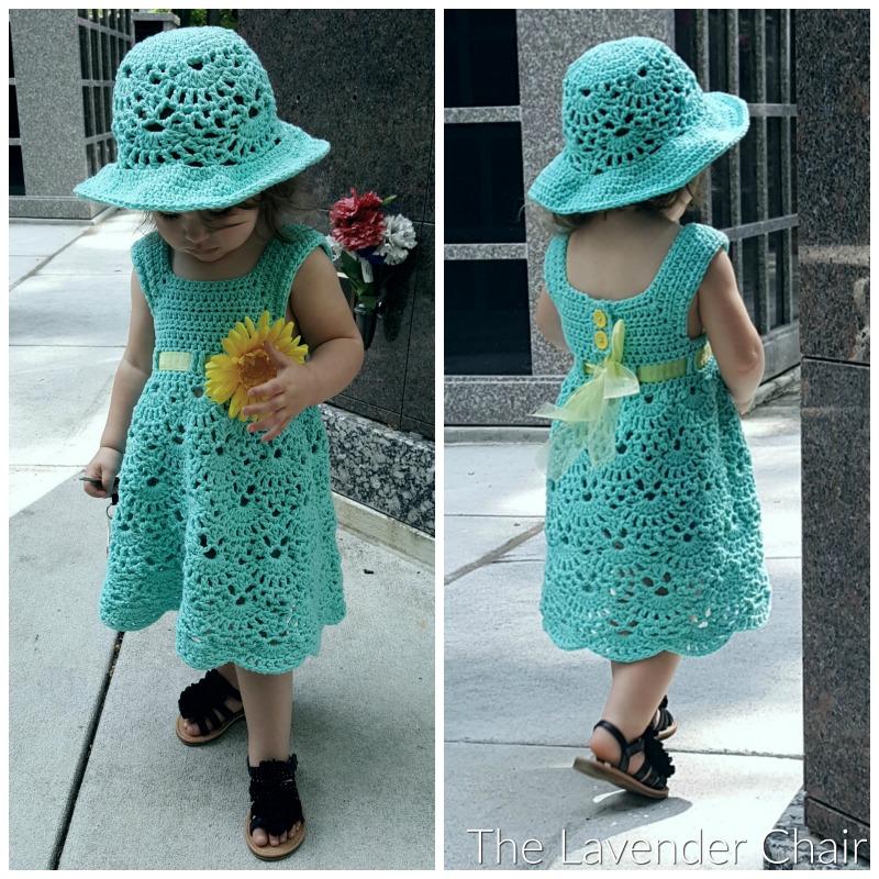 Lacy Shells Dress Crochet Pattern