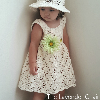 Vintage Toddler Dress Crochet Pattern The Lavender Chair