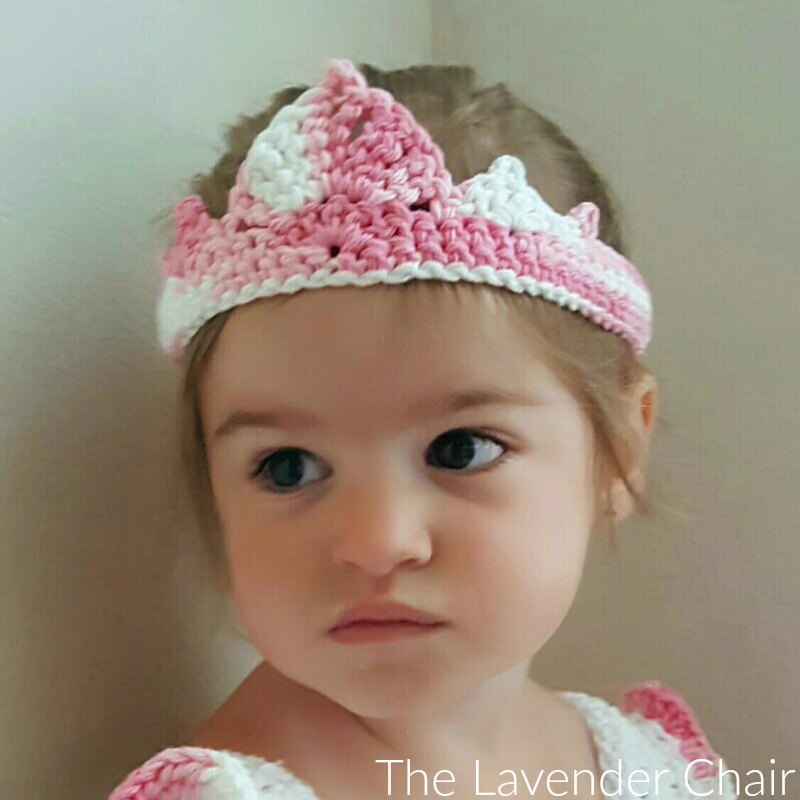 Valeries Princess Crown Crochet Pattern The Lavender Chair