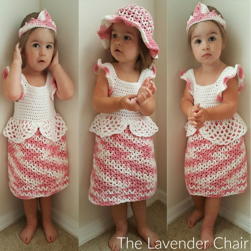 Valeries Princess Dress Crochet Pattern The Lavender Chair
