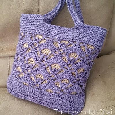 Gemstone Lace Market Bag Crochet Pattern