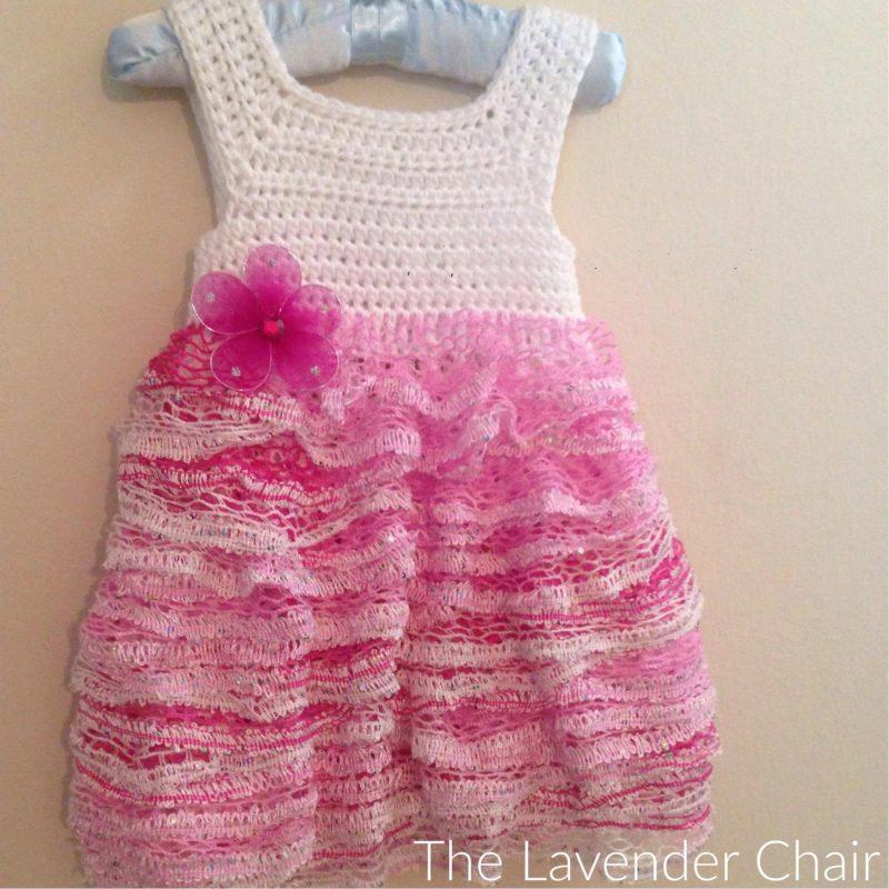 Sashay Ruffles Dress Crochet Pattern The Lavender Chair