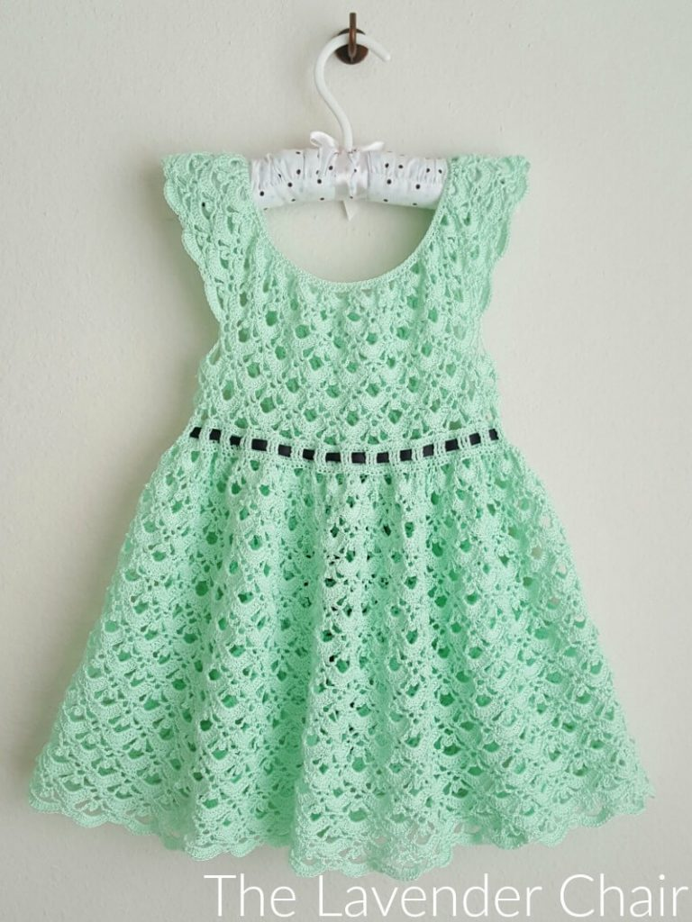 Gemstone Lace Toddler Dress Crochet Pattern The Lavender Chair