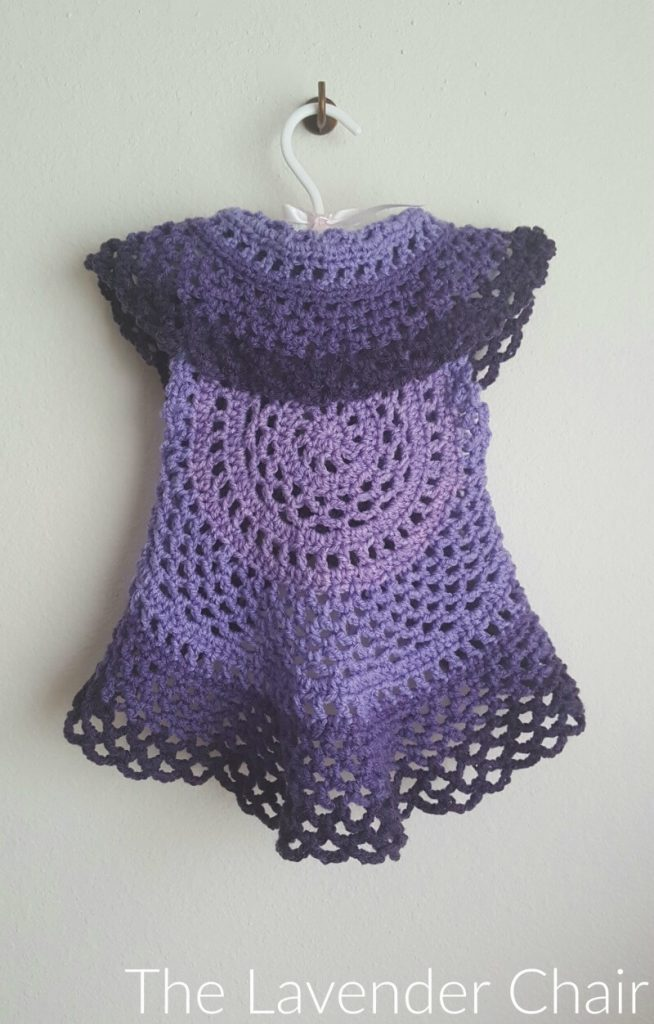 Ring Around the Rosie Vest - Free Crochet Pattern - The Lavender Chair