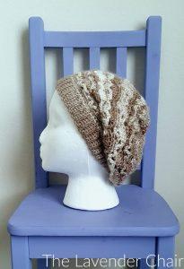 0eddbc6fceb Vintage Slouchy Beanie Crochet Pattern - The Lavender Chair