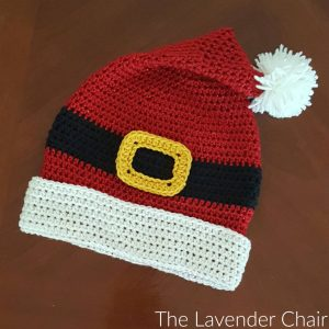 Santa Hat Crochet Pattern - The Lavender Chair 54d857f63fa