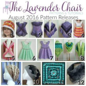 August 2016 Crochet Pattern Releases