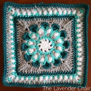 Morning Glory Mandala Square Crochet Pattern