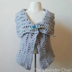 Lacy Waves Vest Crochet Pattern