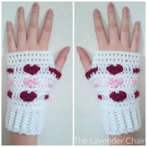 Love Me Tender Fingerless Gloves Crochet Pattern