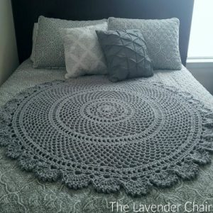 Ring Around the Rosie Mandala Blanket Crochet Pattern