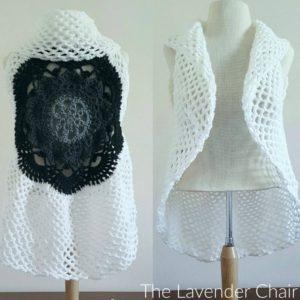 Starburst Mandala Circular Vest CAL Part 3