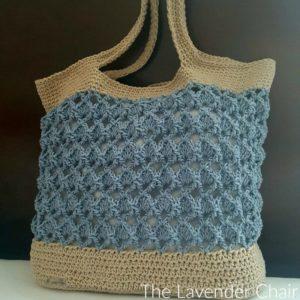 Sensu Fan Market Tote Crochet Pattern