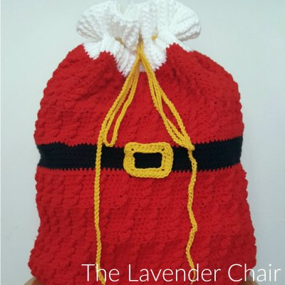 Standing Cables Santa Sack Crochet Pattern