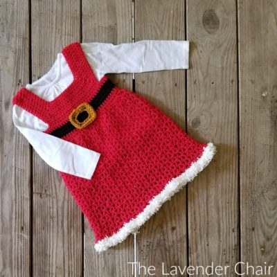 Mrs. Claus' Winter Dress Crochet Pattern