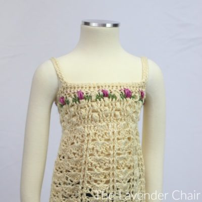 Rose Garden Tank Crochet Pattern
