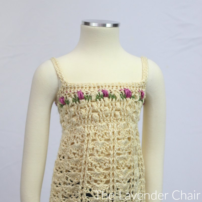 Rose Garden Tank Crochet Pattern