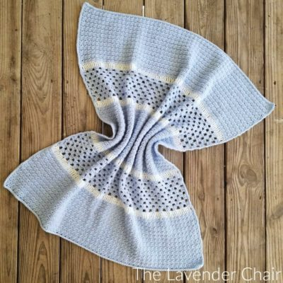 The Derek Baby Blanket Crochet Pattern