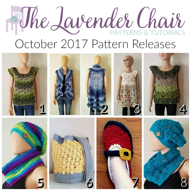 October 2017 Pattern Releases