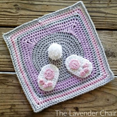 Bunny Bum Square Crochet Pattern