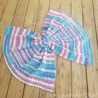 Berry Cupcake Baby Blanket Crochet Pattern