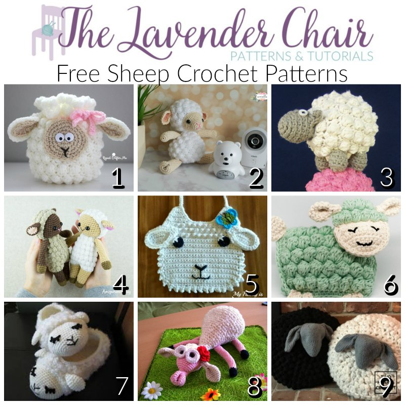 Free Sheep Crochet Patterns The Lavender Chair
