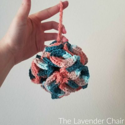 Sandstone Bath Puff Crochet Pattern