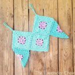 Granny Flower Crop Top Crochet Pattern