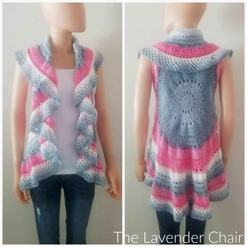 Wagon Wheel Circular Vest CAL Part 4