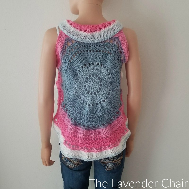 Wagon Wheel Circular Vest CAL Part 3
