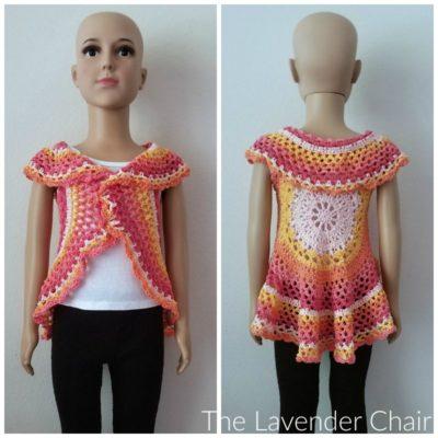 Chrysanthemum Circular Vest (Kids) Crochet Pattern