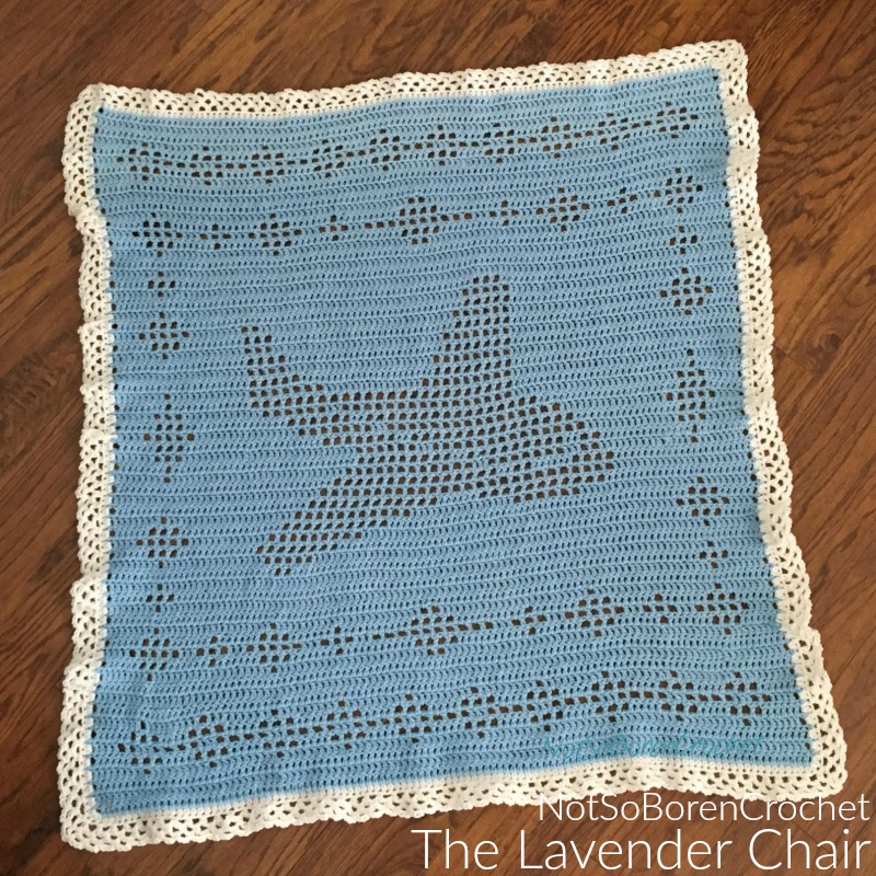 Filet Airplane Blanket Crochet Pattern The Lavender Chair
