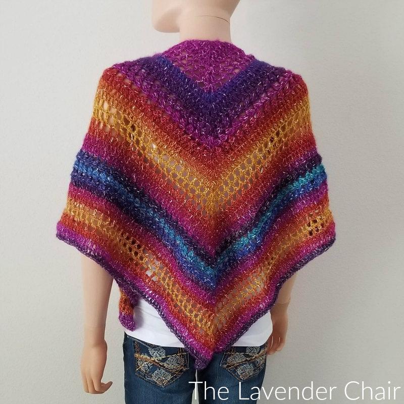 Attractive Clarissa Shawl Crochet Pattern