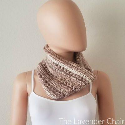 Rocky Road Cowl Crochet Pattern