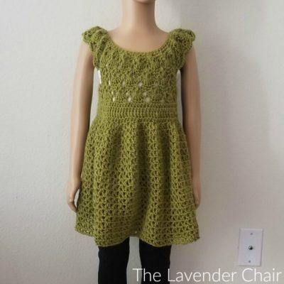 Valerie's Vintage Rounded Yoke Dress Crochet Pattern