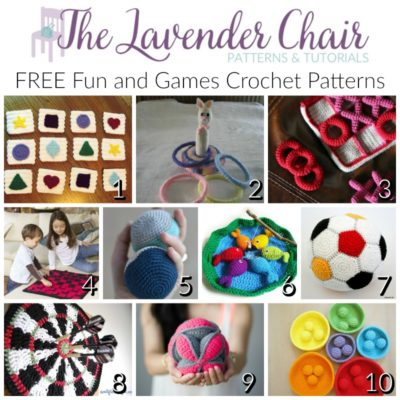 FREE Fun and Games Crochet Patterns