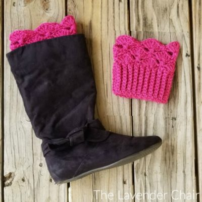 Francesca Boot Cuffs Crochet Pattern The Lavender Chair