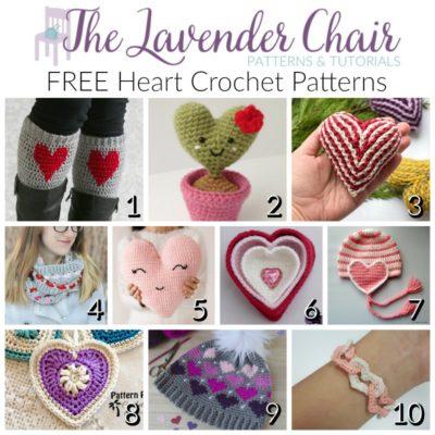 FREE Heart Crochet Patterns