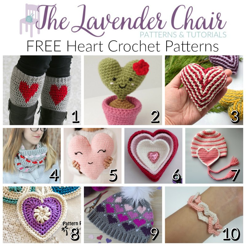 FREE Heart Crochet Patterns