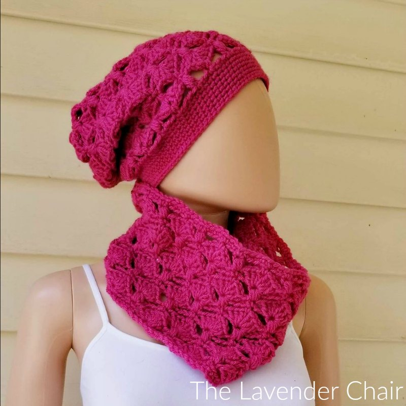 Francesca Cowl - Free Crochet Pattern - The Lavender Chair